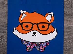 Image depicting some of the the downloadable cut file Dapper Fox