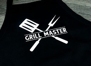 """Image depicting the downloadable cut file that says """"Grill Master"""""""