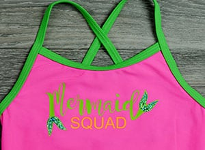 "Image depicting the downloadable cut file that says ""Mermaid Squad"""