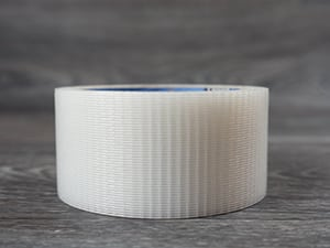 The duct tape used to transfer the Pressure Sensitive GlitterFlex Ultra