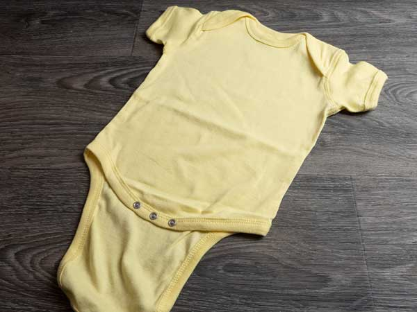 The onesie we will be using for this project