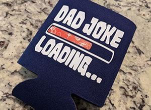 Image depicting the downloadable cut file Dad Joke Loading